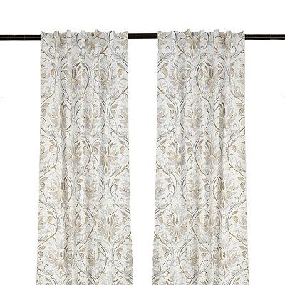 White Lark Curtain Panel Set, 96 in.