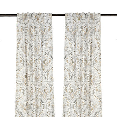 White Lark Curtain Panel Set, 108 in.