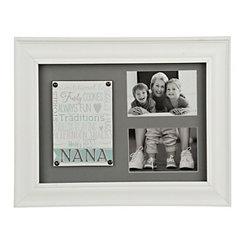 Nana White Collage Frame