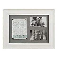 Mimi White Collage Frame