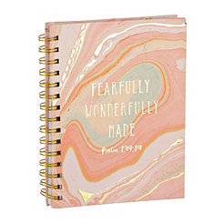 Fearfully Wonderfully Made Spiral Notebook