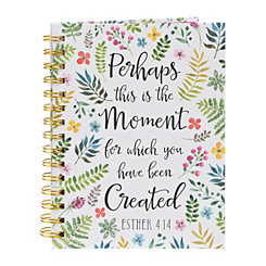 Perhaps This Is The Moment Spiral Notebook