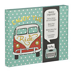 Enjoy The Ride Weekly Organizer