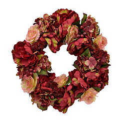 Pink Peony Mix Wreath