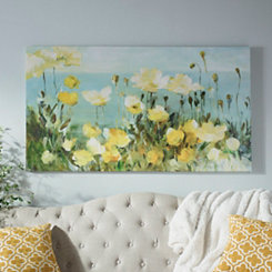 Field of Yellow Canvas Art Print