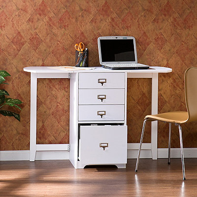 Molly Craft Desk with Fold Out Organizer