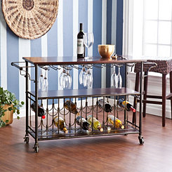 Maurice Wine and Bar Cart