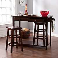 Kasey Breakfast Nook Table and Stools, Set of 3
