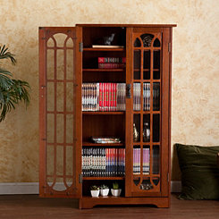 Clifford Oak Media Cabinet