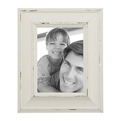 Distressed Cream Picture Frame, 5x7