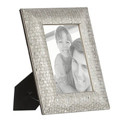 Silver Mosaic Picture Frame, 5x7