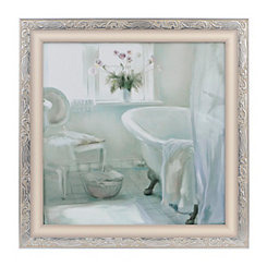 Seaglass Bath II Framed Art Print