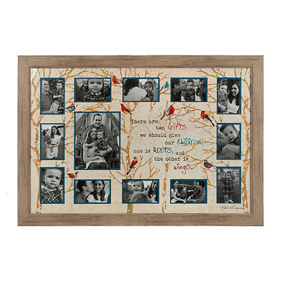 Roots and Branches Collage Frame