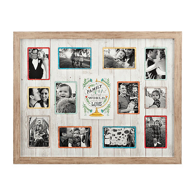 Little World Wooden Collage Frame
