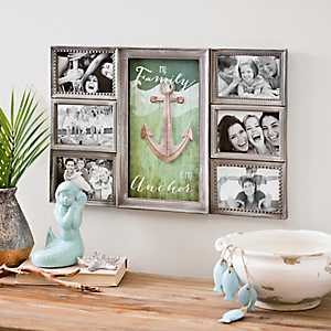 Family is my Anchor Collage Frame