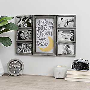 I Love You To the Moon Collage Frame