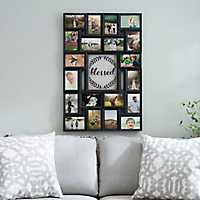 Blessed Laurel Wreath Collage Frame