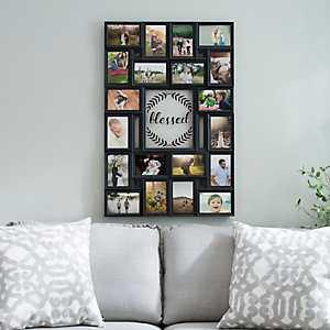 Blessed Laurel Wreath Collage Frame