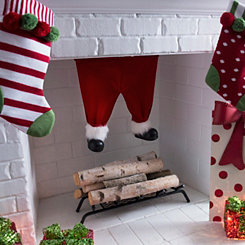 Plush Santa Pants Hanger