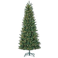 7.5 ft. Pre-Lit Montgomery Pine Christmas Tree