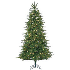 7.5 ft. Clear Lit Franklin Spruce Christmas Tree