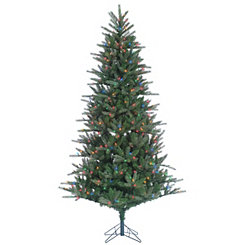 7.5 ft. Multi-Lit Franklin Spruce Christmas Tree