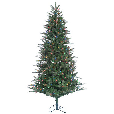7.5 ft. Multi-Lit Franklin Spruce Christmas Tree