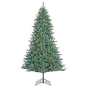 7.5 ft. Dual-Lit Allegheny Pine Christmas Tree