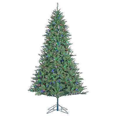 7.5 ft. Dual-Lit Allegheny Pine Christmas Tree