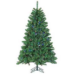7 ft. Multi-Lit Montana Pine Christmas Tree