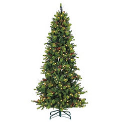 7.5 ft. Pre-Lit Michigan Spruce Christmas Tree