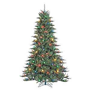 7.5 ft. Retro Pre-Lit Reno Pine Christmas Tree