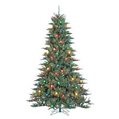 7.5 ft. Retro Pre-Lit Reno Pine Christmas Tree