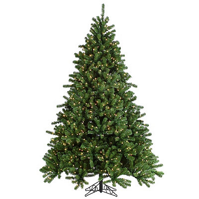 7.5 ft. Clear Lit Canyon Spruce Christmas Tree