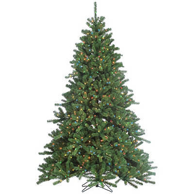 7.5 ft. Multi-Lit Canyon Spruce Christmas Tree