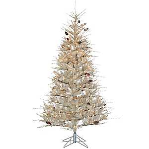 7 ft. Frosted Hard Needle Sage Christmas Tree