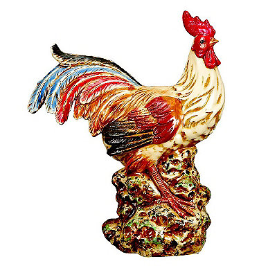 Standing Ceramic Rooster