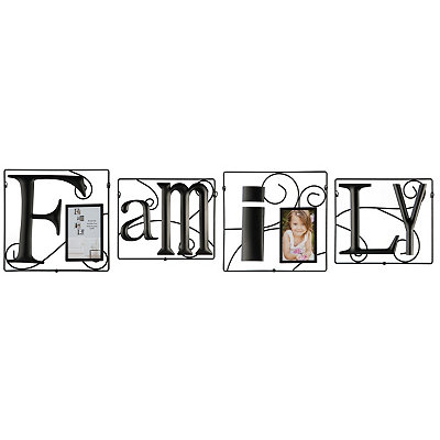 Metal 4-pc. Family Frame Set