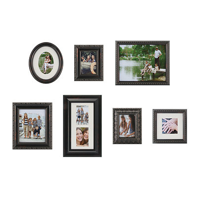 Bronze Ornate 7-pc. Gallery Picture Frame Set