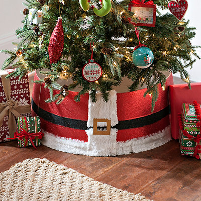 Santa Belt Tree Collar