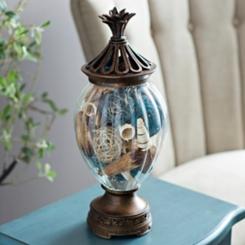 Bronze Pineapple Potpourri Jar