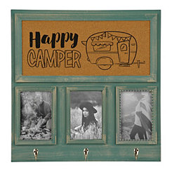 Turquoise Happy Camper Picture Collage Frame