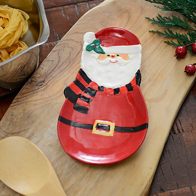 Santa Kitchen Spoon Rest