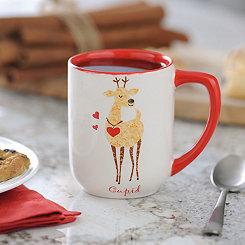 Cupid Reindeer Mug