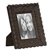 Distressed Bronze Ornate Picture Frame, 5x7