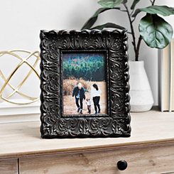 Distressed Bronze Ornate Picture Frame, 5x7