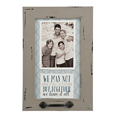 All Together Windowpane Photo Frame, 5x7