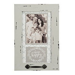 Choose Happy Windowpane Photo Frame, 5x7
