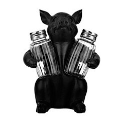 Standing Pig Salt and Pepper Shaker Set