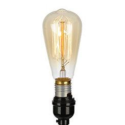 Amber 40-Watt Edison Bulb